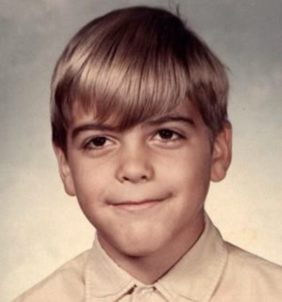 george clooney young