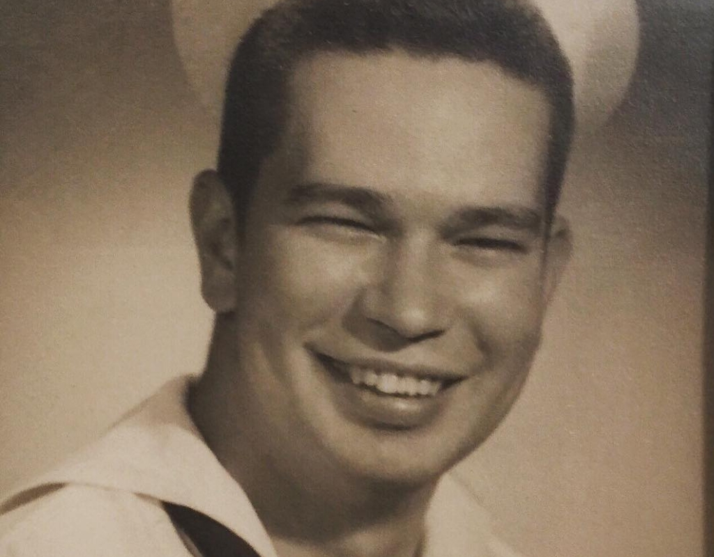 old man harrison in the navy