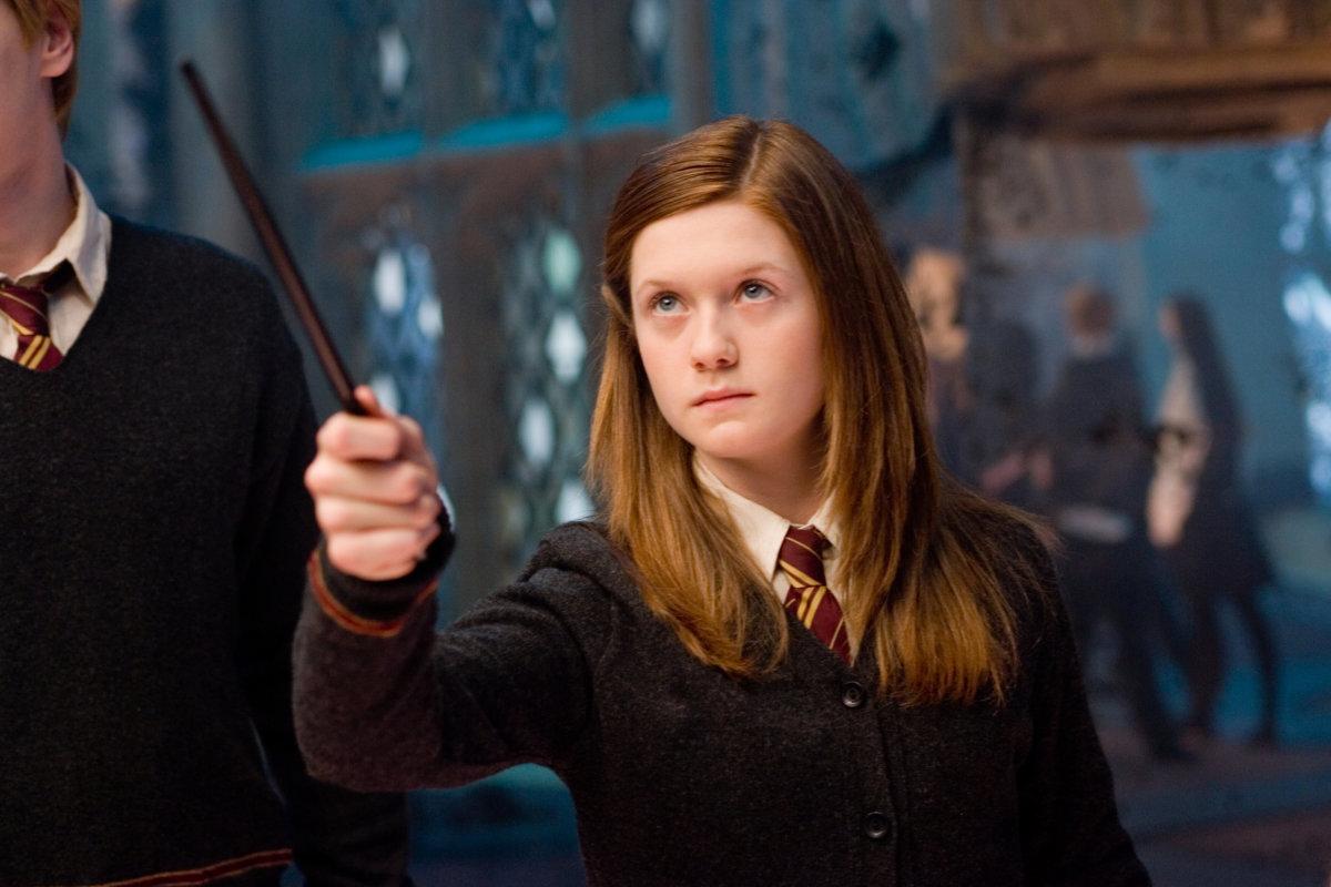 ginny weasley love potion