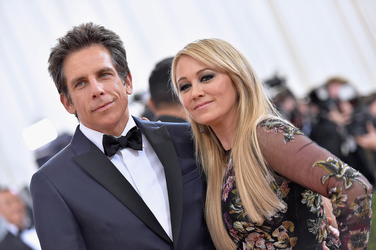 Ben Stiller and Christine Taylor attend the 'Manus x Machina: Fashion In An Age Of Technology' Costume Institute Gala at Metropolitan Museum of Art 2016 in New York City