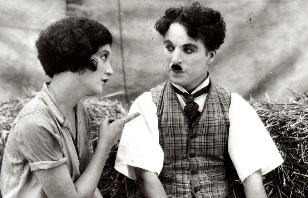 Lita Grey and Charlie Chaplin The Circus 1928
