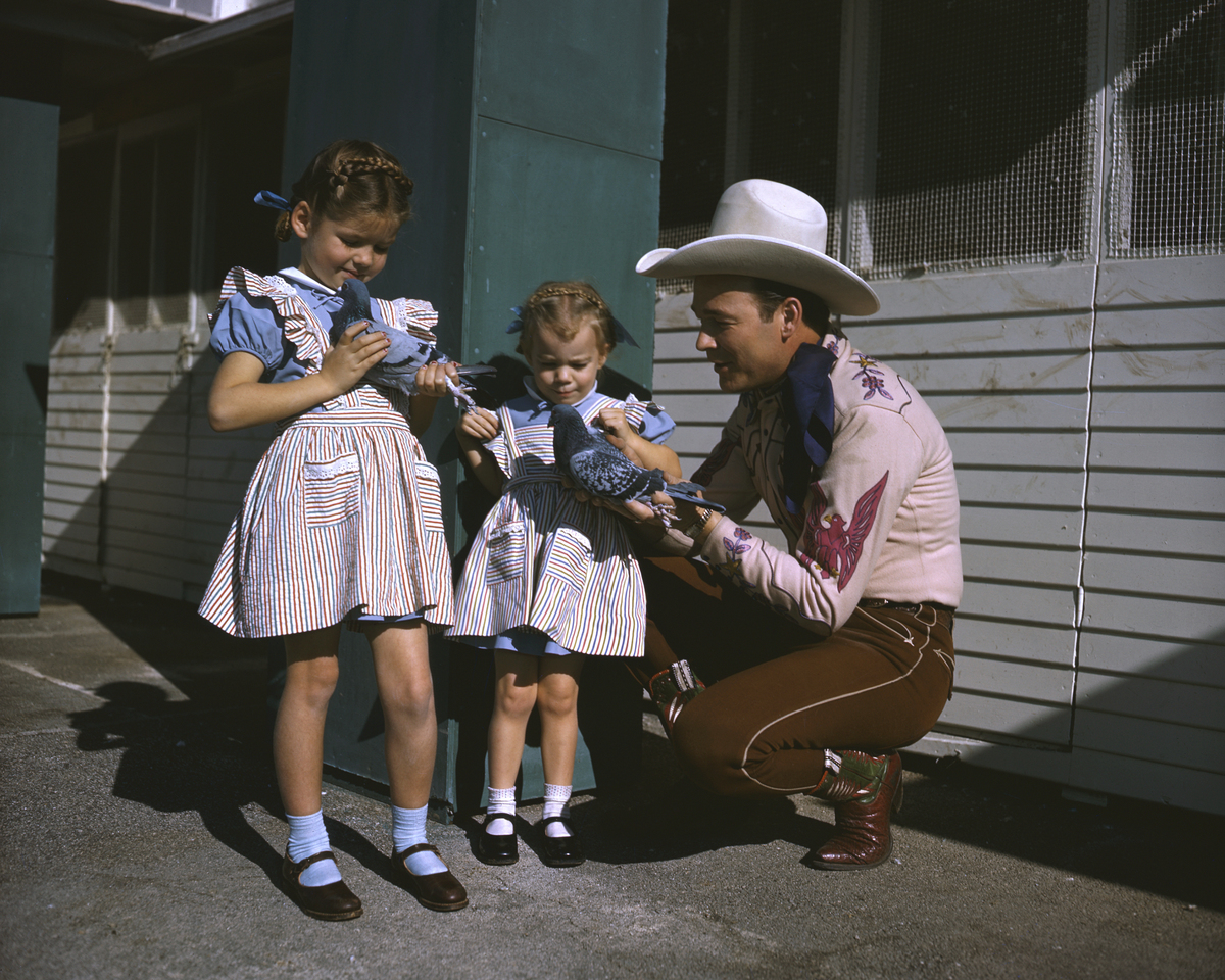 roy rogers daughters cheryl linda with his second wife