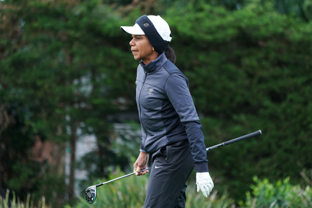 condoleeza rice best celebrity golfers
