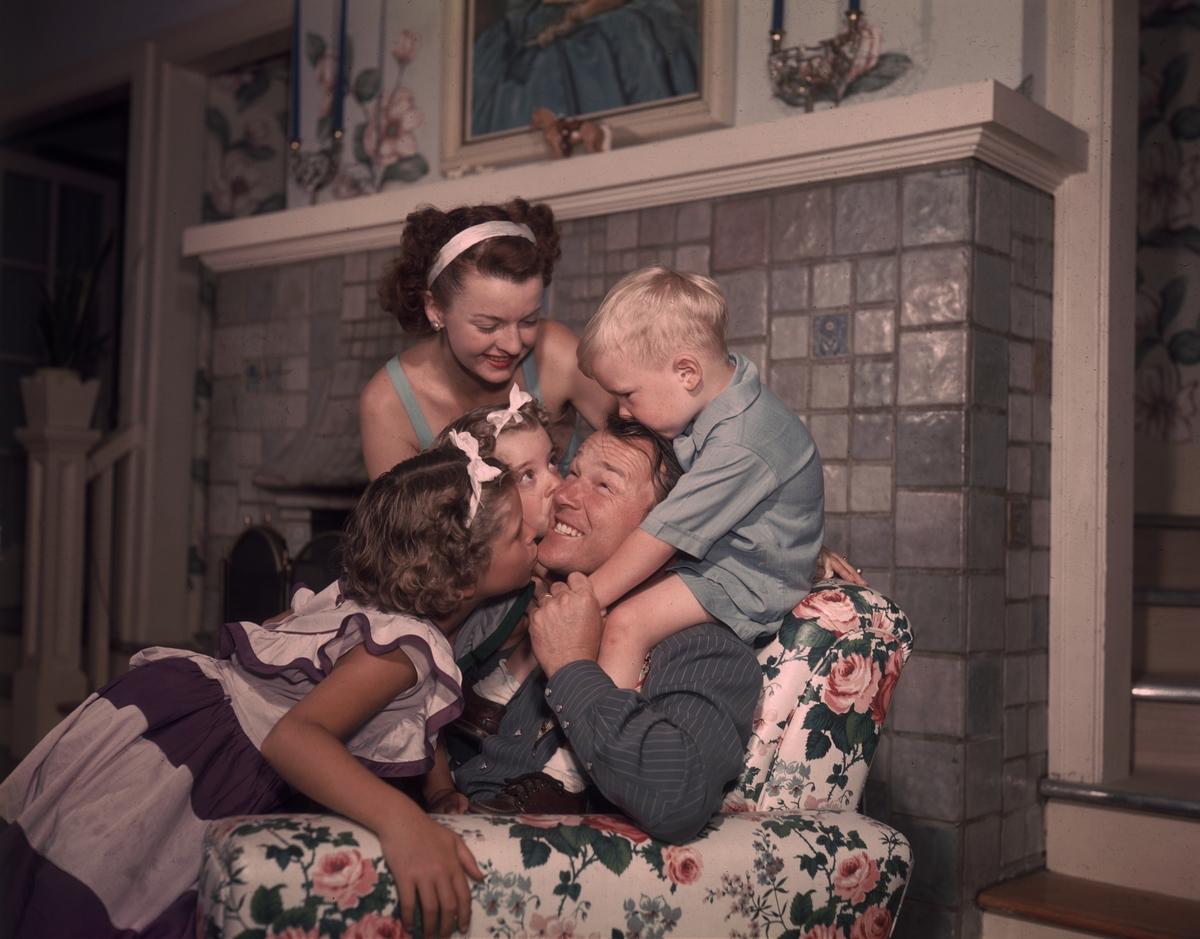 roy rogers family photo