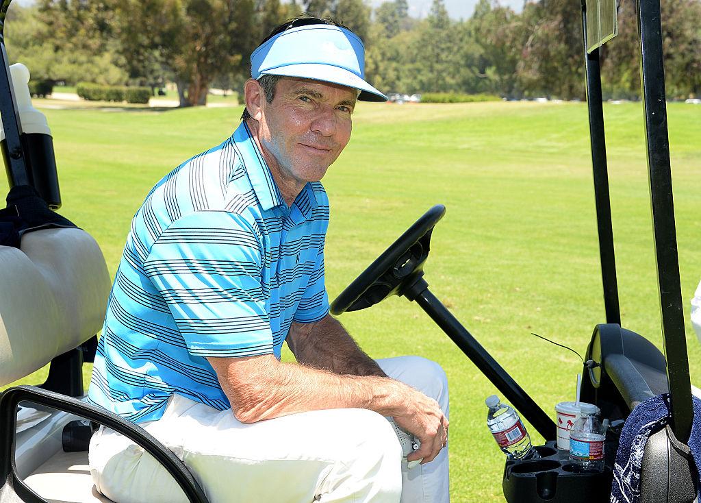 dennis quaid best celebrity golfers