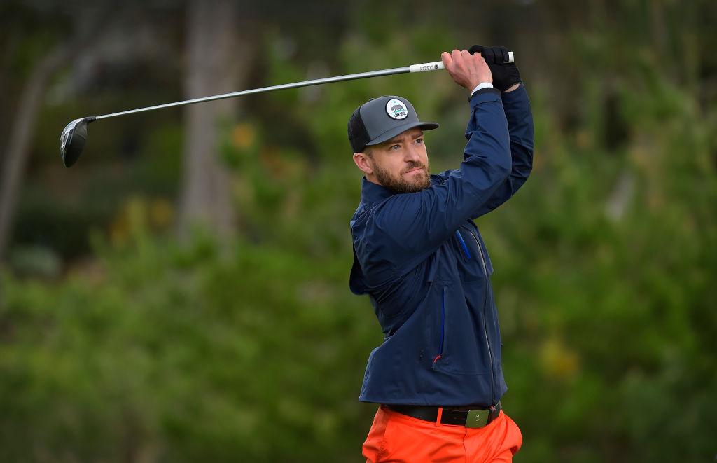 Justin timberlake best celebrity golfers