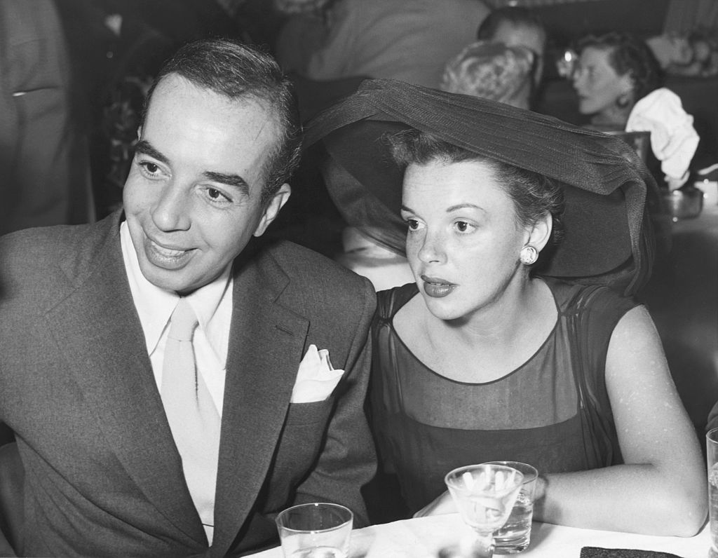 Judy Garland and her film director husband, Vincente Minnelli.