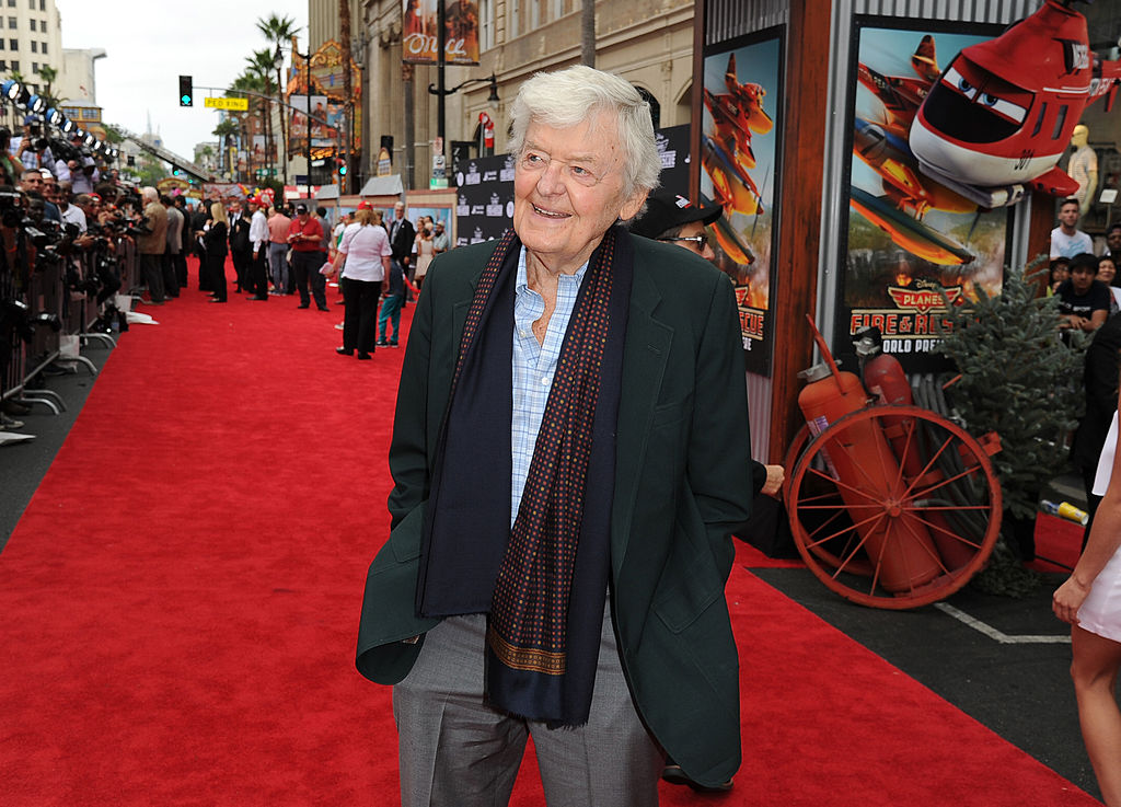 Actor Hal Holbrook attends the premiere of Disney's