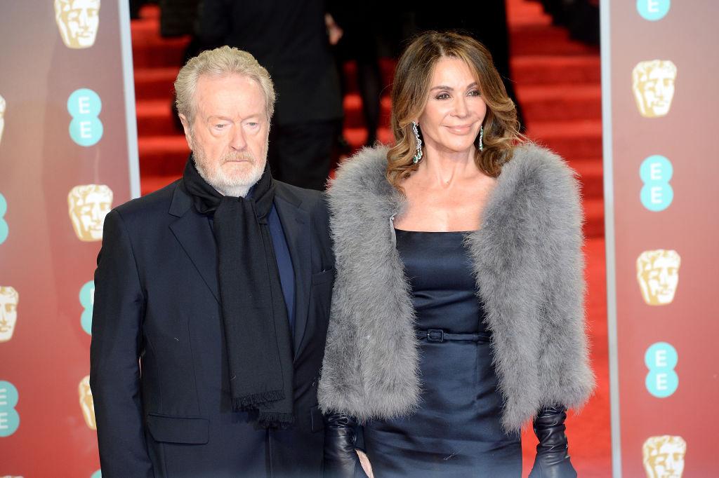 Ridley Scott And Giannina Facio-920166600